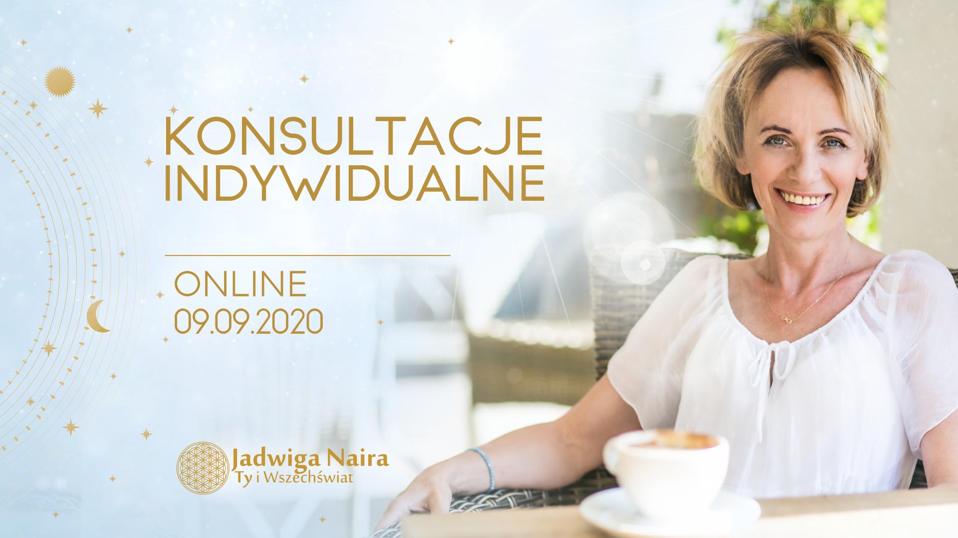 Konsultacje indywidualne online z Jadwigą Nairą