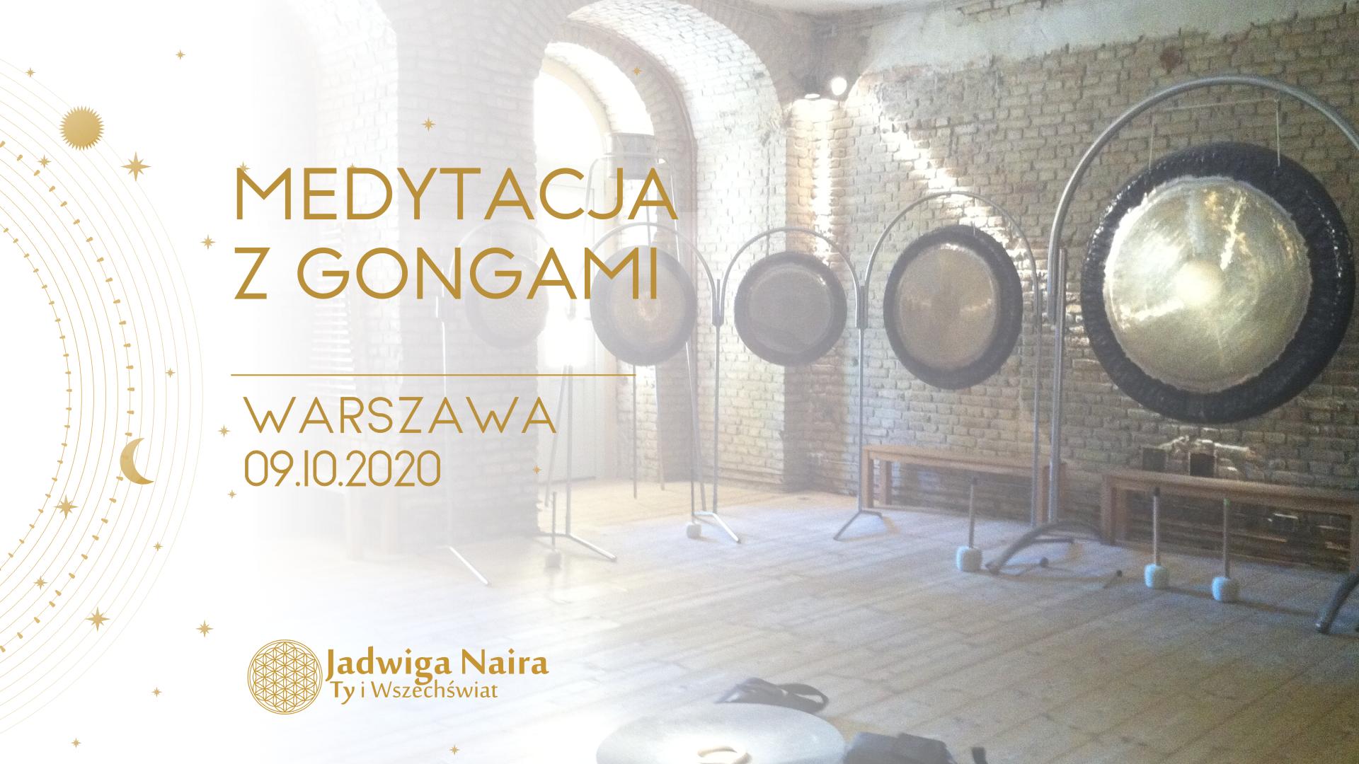 Medytacja z Gongami / Warszawa