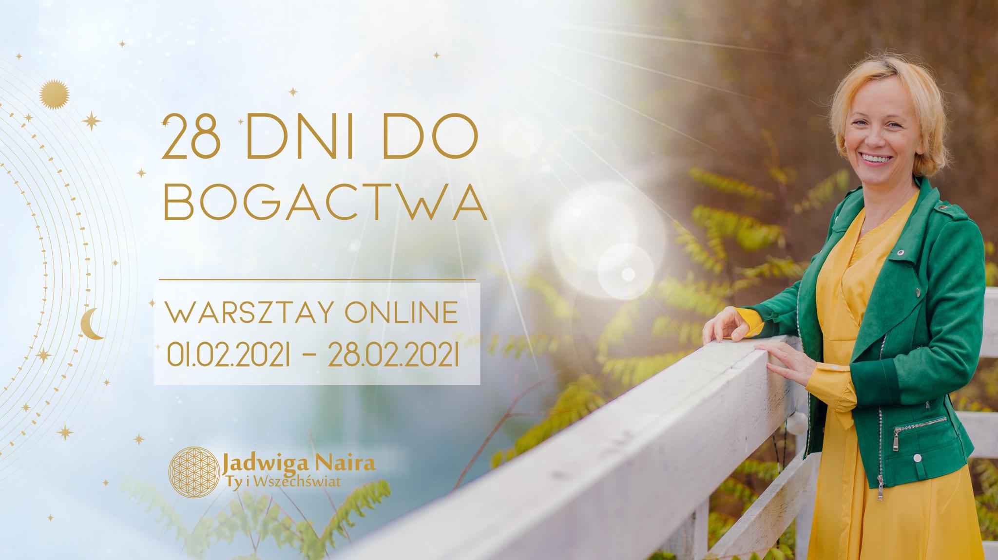 28 Dni do Bogactwa / warsztat online