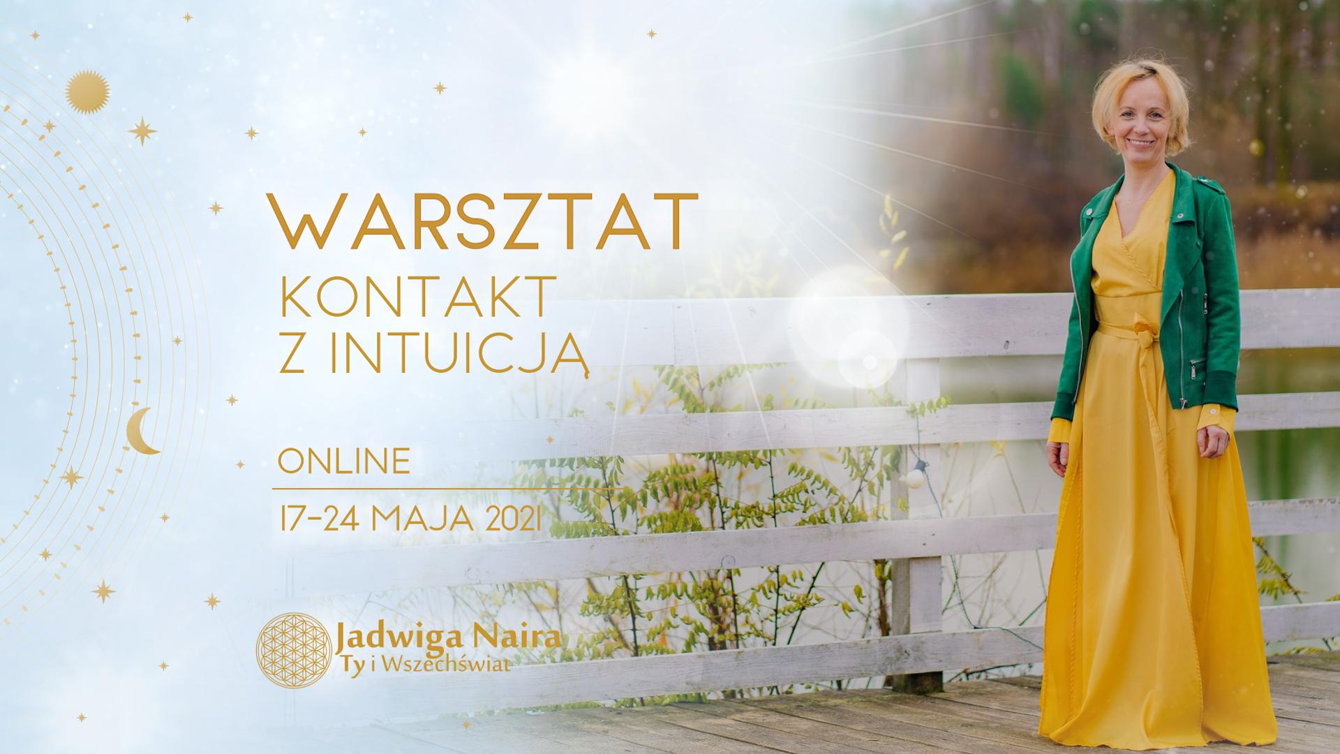Kontakt z Intuicją / Warsztat Online