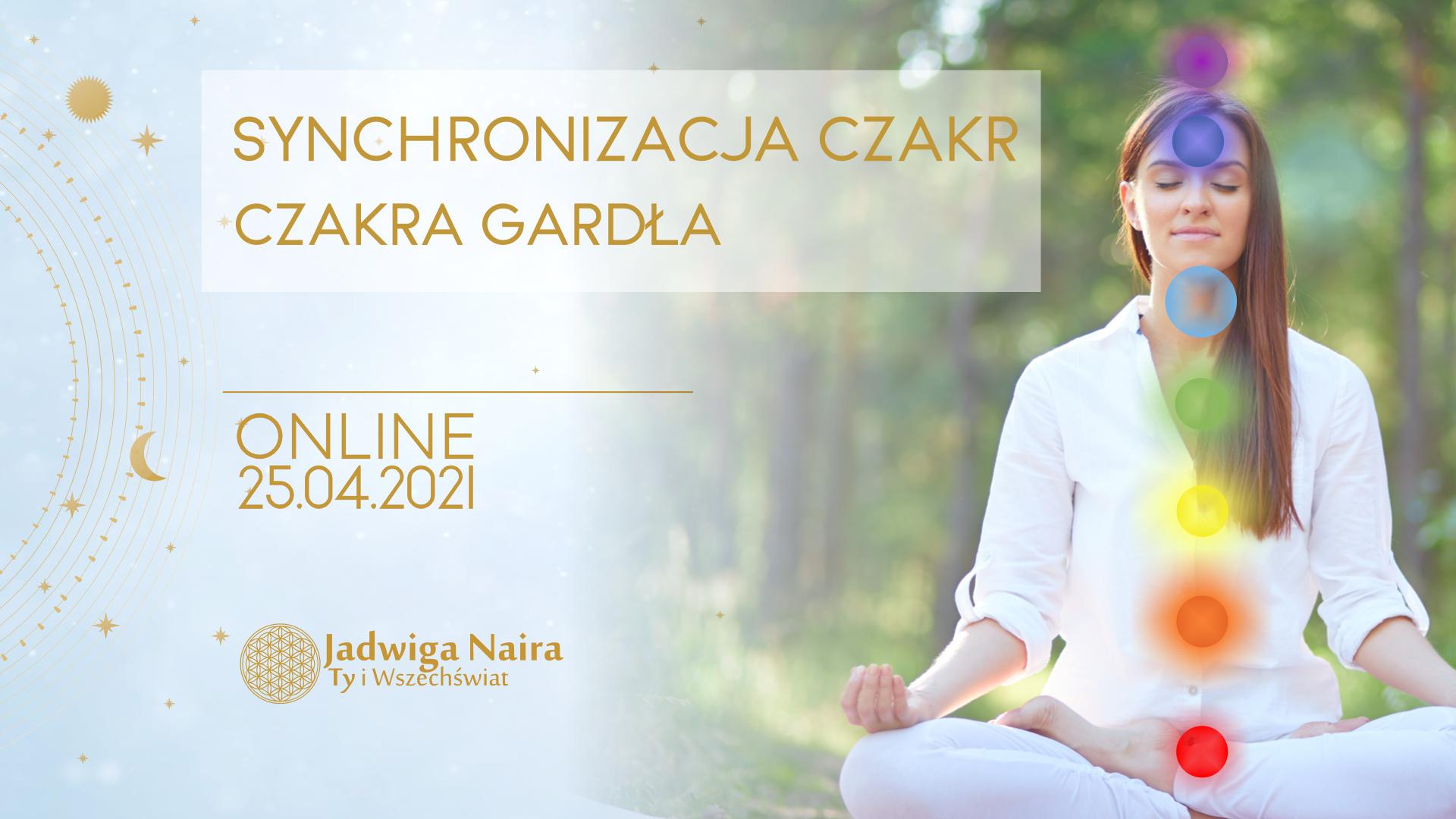 Warsztat Online - Synchronizacja Czakr. Czakra Gardła