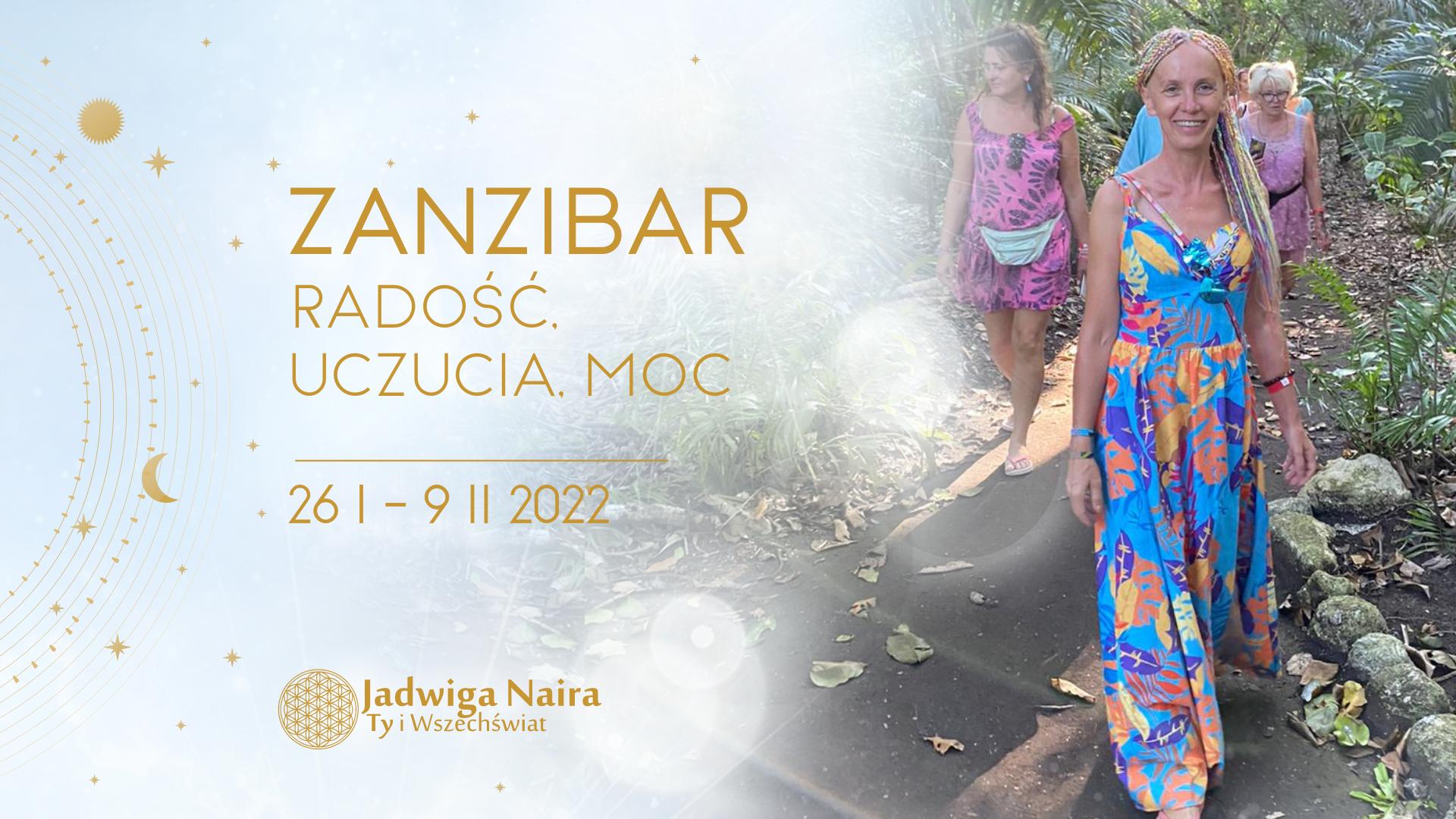 Zanzibar - Radość. Uczucia. Moc.